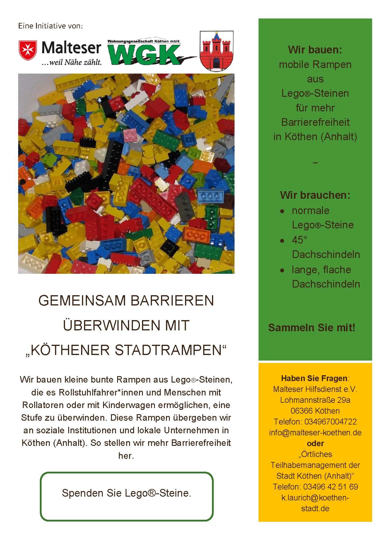 Plakat Köthener Stadtrampen